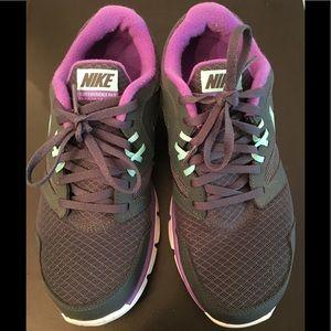 Nike Exercise Shoes purple size 7
